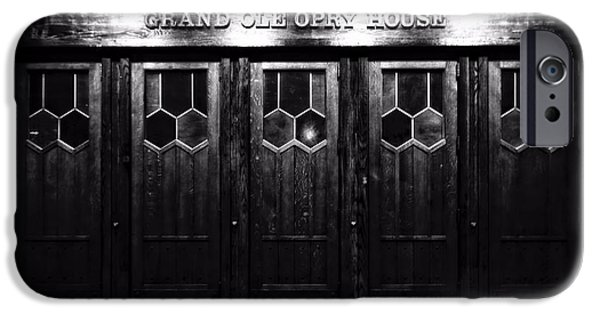 Tennessee Landmark iPhone Cases - Grand Ole Opry House iPhone Case by Dan Sproul