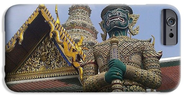 Ted Williams iPhone Cases - Grand Palace Thailand iPhone Case by Ted Williams