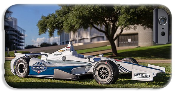 Indy Car iPhone Cases - Grand Prix of Indianapolis iPhone Case by Tim Stanley