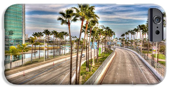 Fast Ball iPhone Cases - Grand Prix Of Long Beach iPhone Case by Heidi Smith