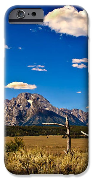 Grand Tenton Overlook iPhone Case by Robert Bales