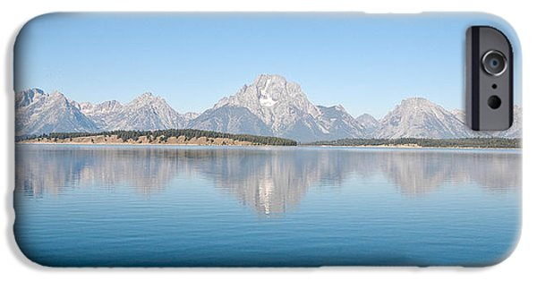 Landscape iPhone Cases - Grand Teton National Park iPhone Case by Sebastian Musial