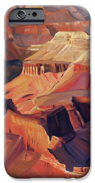 Grand Canyon iPhone Cases - Grand View iPhone Case by Jack Atkins