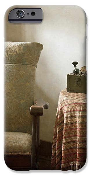 Grandma's Chair iPhone Case by Margie Hurwich