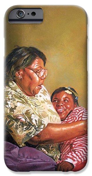 Grandmas Love iPhone Case by Colin Bootman