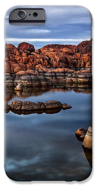 Granite Dells at Watson Lake Arizona 2 iPhone Case by Dave Dilli