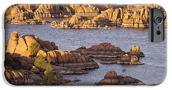 Prescott iPhone Cases - Granite Dells iPhone Case by Gerry Groeber