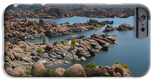Prescott iPhone Cases - Granite Dells iPhone Case by Shannon Hastings