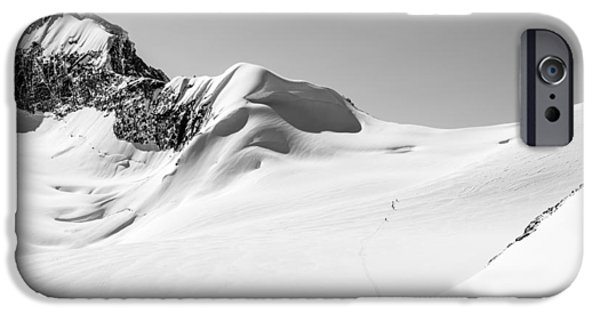 Ironman iPhone Cases - Granite Glacier iPhone Case by Ian Stotesbury