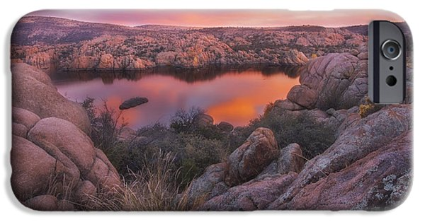 Prescott Arizona iPhone Cases - Granite Sorbet iPhone Case by Peter Coskun