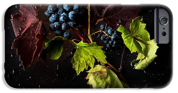 Earth Tone iPhone Cases - Grapes iPhone Case by Ivan Vukelic
