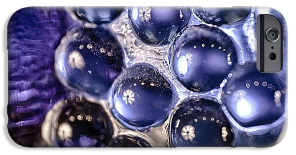 Fine Abstract Glass iPhone Cases - Grapes of Glass iPhone Case by Omaste Witkowski