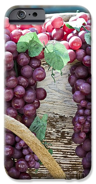 Grapes iPhone Case by Tim Hightower