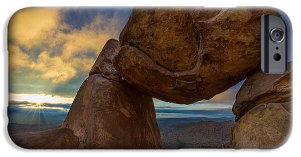 Epic Photographs iPhone Cases - Grapevine Hills iPhone Case by Inge Johnsson