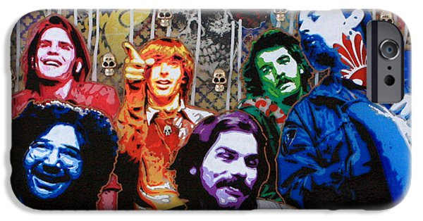 Casey iPhone Cases - Grateful Dead  iPhone Case by Gary Kroman