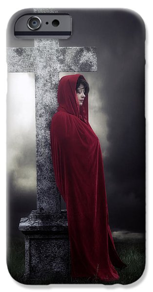 Mourning iPhone Cases - Graveyard iPhone Case by Joana Kruse