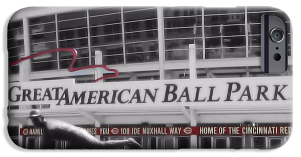 All Star Game iPhone Cases - Great American Ball Park And The Cincinnati Reds iPhone Case by Dan Sproul