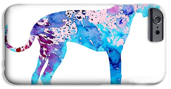 Great Dane iPhone Cases - Great Dane 4 iPhone Case by Luke and Slavi