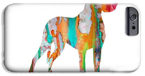 Great Dane iPhone Cases - Great Dane iPhone Case by Luke and Slavi