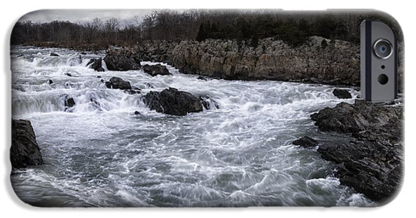 United iPhone Cases - Great Falls iPhone Case by Joan Carroll
