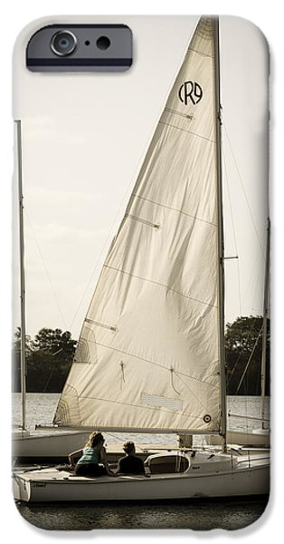 Bonding iPhone Cases - Great Sails iPhone Case by Lajeana Hurst