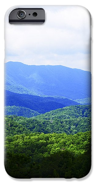 Great Smoky Mountains iPhone Case by Christi Kraft