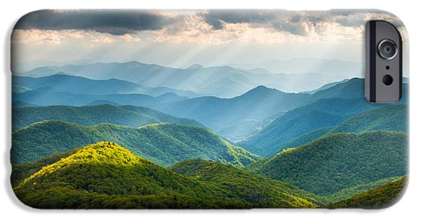 Best Sellers -  - Dave iPhone Cases - Great Smoky Mountains National Park NC Western North Carolina iPhone Case by Dave Allen