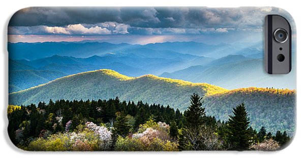 Best Sellers -  - Dave iPhone Cases - Great Smoky Mountains National Park - The Ridge iPhone Case by Dave Allen