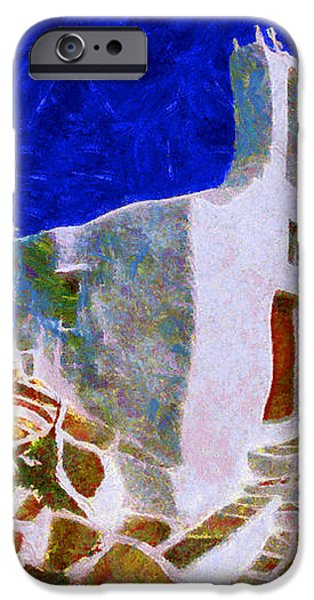 Greek Church 5 iPhone Case by George Rossidis