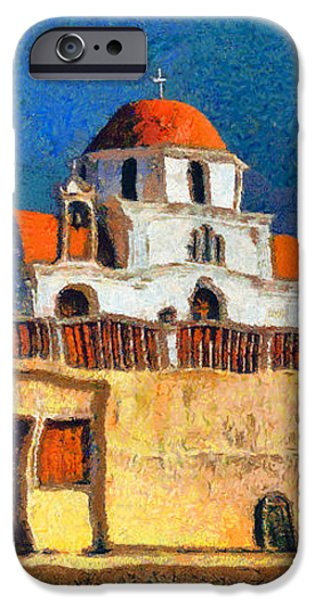 Greek Church 7 iPhone Case by George Rossidis