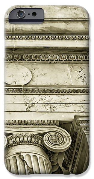 Greek Theatre 5 Golden Age iPhone Case by Angelina Vick