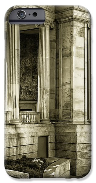 Greek Theatre 7 Golden Age iPhone Case by Angelina Vick