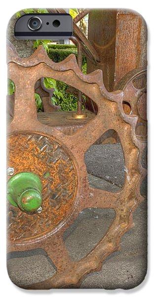 Green Axle iPhone Case by Jean Noren