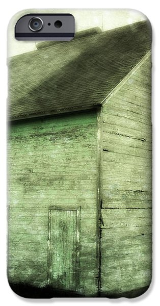 Green Barn iPhone Case by Julie Hamilton