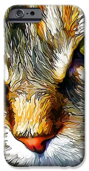 Green-Eyed Monster iPhone Case by Bill Caldwell -        ABeautifulSky Photography