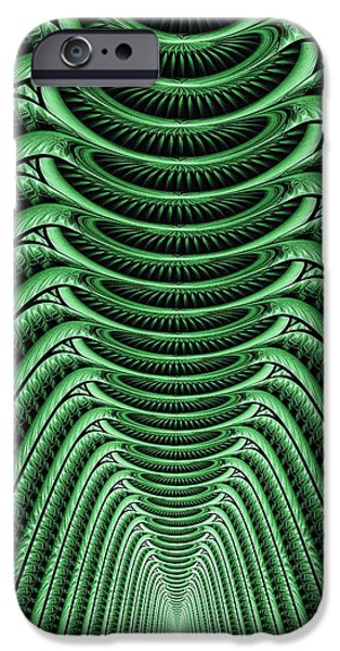 Fantastic Gifts iPhone Cases - Green Hall iPhone Case by Anastasiya Malakhova