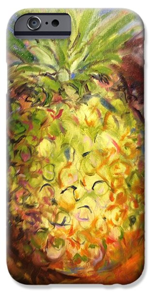 Green Heat iPhone Case by Karen Carmean