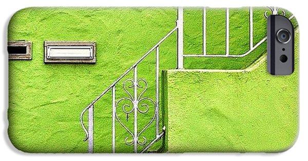 Green House iPhone Case by Julie Gebhardt
