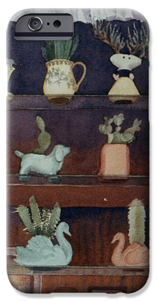 Green House Window iPhone Case by Mary Helmreich