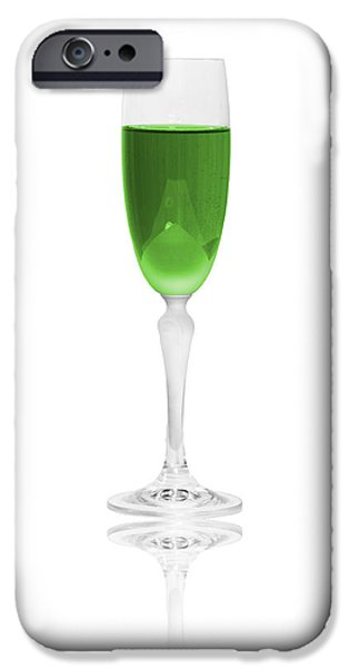 Green is the color iPhone Case by Erik Brede