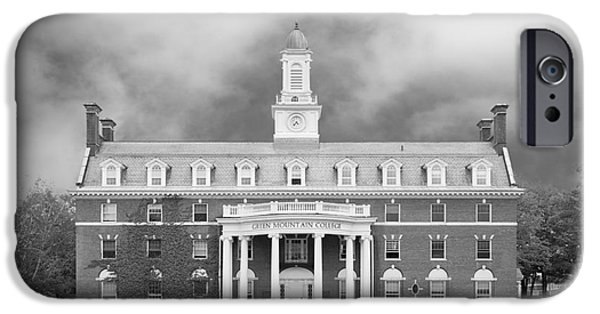 Special Occasion iPhone Cases - Green Mountain College Ames Hall iPhone Case by University Icons
