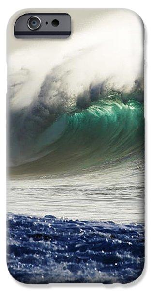 Green Reward iPhone Case by Sean Davey
