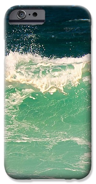 Green Wave Pacific Grove CA  iPhone Case by Artist and Photographer Laura Wrede