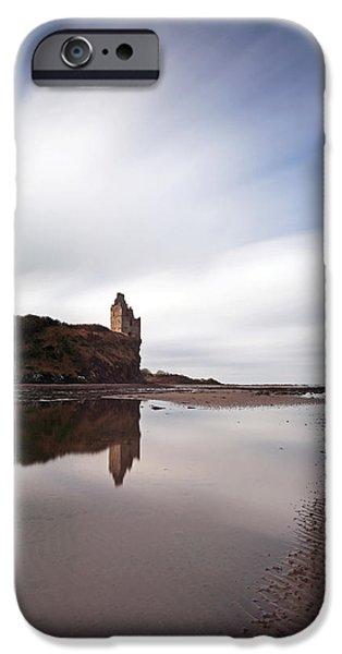Greenan Castle iPhone Case by Grant Glendinning