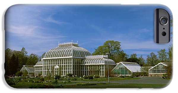 Botanical Photographs iPhone Cases - Greenhouse In A Botanical Garden iPhone Case by Panoramic Images