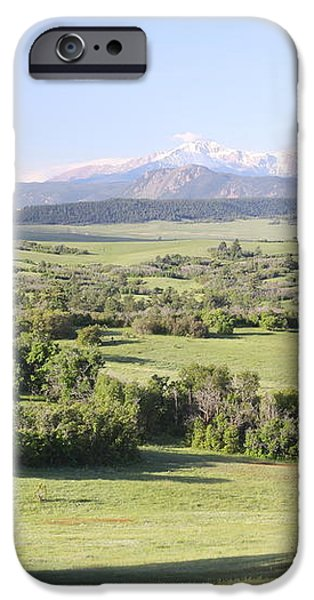 Greenland Ranch iPhone Case by Eric Glaser