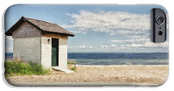 Recently Sold -  - Old Barns iPhone Cases - Greenwich Point iPhone Case by Lois Bryan