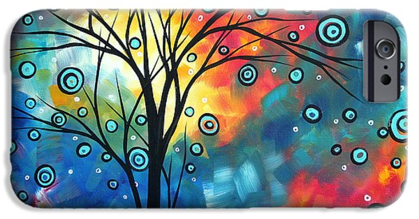 Madart iPhone Cases - Greeting the Dawn by MADART iPhone Case by Megan Duncanson