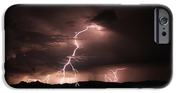Fury iPhone Cases - Greetings from Zeus iPhone Case by Andreas Hohl