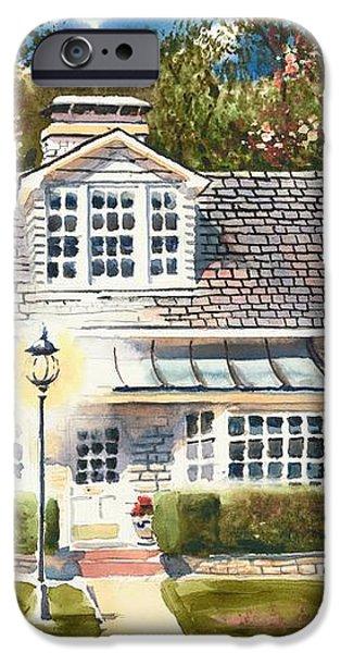Greystone Inn II iPhone Case by Kip DeVore